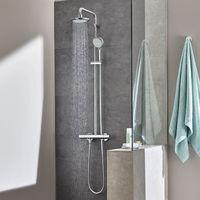 Grohe Sistema de ducha con mezclador termostático Tempesta Cosmopolitan 160 27922000 | cromado brillante