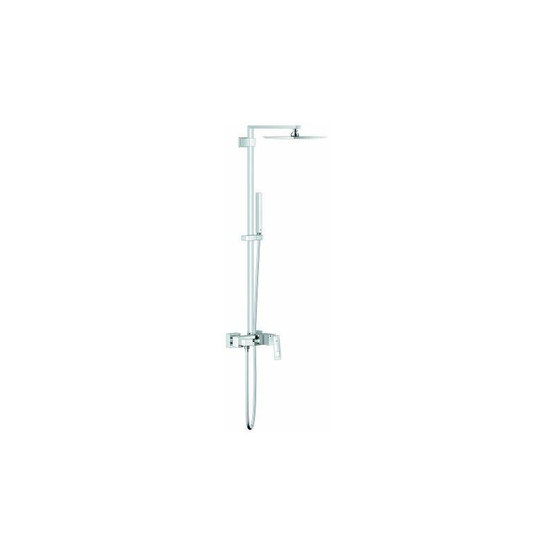 Sistema de ducha Euphoria Cube con mezclador monomando, con rociador metálico Allure 230 - 23147001 - Grohe