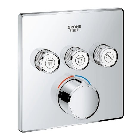 Grohe SmartControl Concealed mixer with 3 valves (29149000)