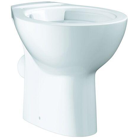 Grohe Stand-Tiefspül-WC Bau Keramik 39430 Abgang waagerecht alpinweiß, 39430000
