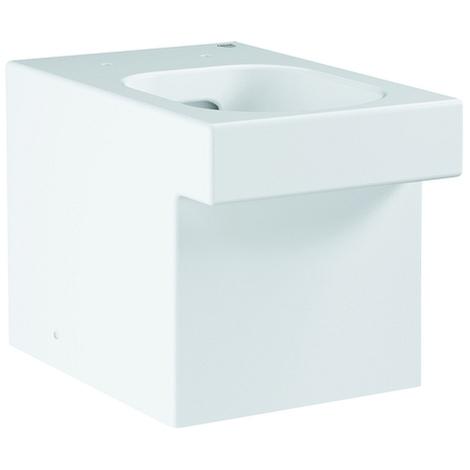 Grohe Stand-Tiefspül-WC Cube Keramik 39485 PureGuard alpinweiß, 3948500H