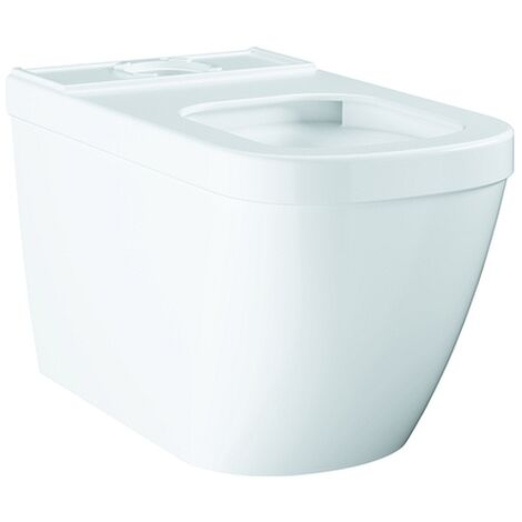 Grohe Stand-Tiefspül-WC Euro Keramik 39338 ohne Spülkasten alpinweiß, 39338000