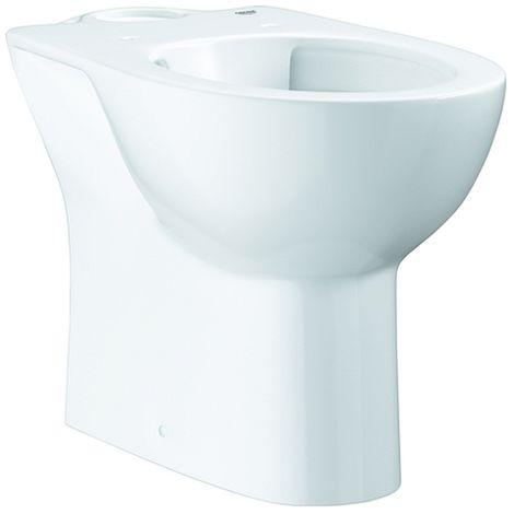 Grohe Stand-WC-Kombination Bau Keramik 39349 ohne Spülkasten alpinweiß, 39349000