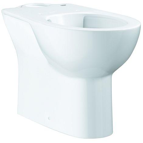 Grohe Stand-WC-Kombination Bau Keramik 39429 ohne Spülkasten alpinweiß, 39429000
