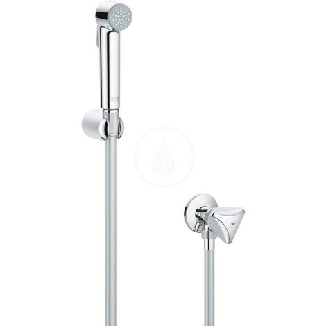 Grohe Tempesta-F Trigger Spray 30 Wall holder set with angle valve 1 spray, Chrome (27514001)