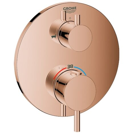 Grohe THM-Wannenbatterie Atrio 24138 FMS für 35600 2-Wege-Umstellung warm sunset, 24138DA3