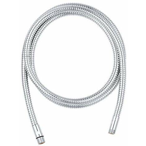 Grohe, Tubo flessibile per manopola doccia in metallo, cromato, 28146000