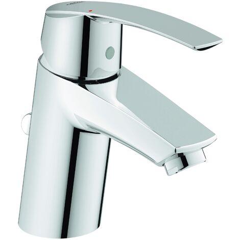 Grohe Waschtischarmatur Start, 32559001, Einhandmischer für Waschtisch mit Keramikkartusche, StarLight Oberfläche, EcoJoy, Chrom, 09711 6