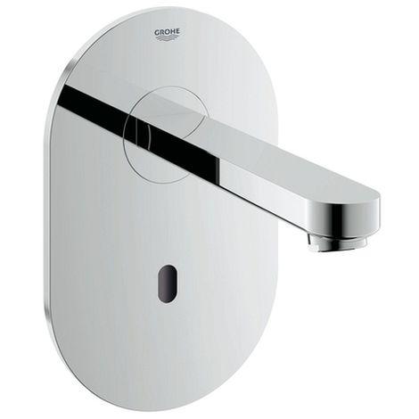 Grohe Waschtischarmatur Wand-IR-Elekt. EuroEco CE 36410 ohne Mischung Trafo Bluetooth-Modul chrom, 36410000