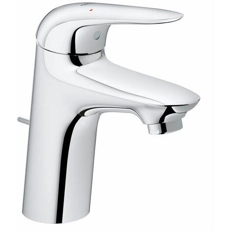 Grohe Wave Waschtischarmatur S-Size verchromt, mit variabler Temperatur- und Mengenbegrenzung, wassersparend