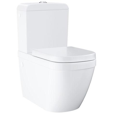Grohe WC à poser sans bride Euro Ceramic + abattant