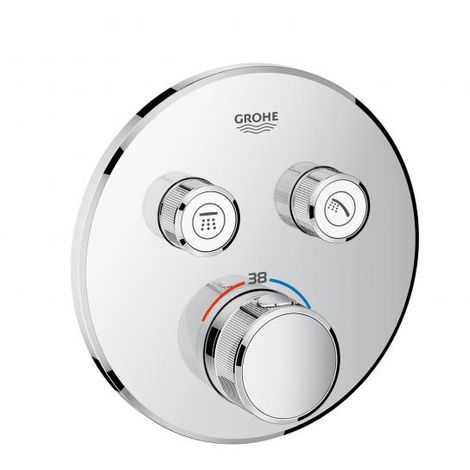 Grohtherm SmartControl Termostato empotrado con 2 llaves Grohe 29119000