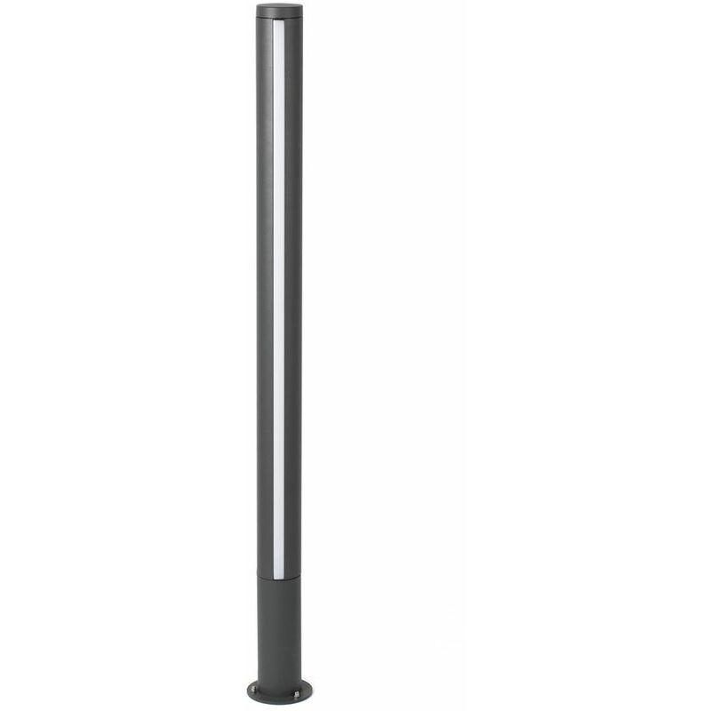 LED Wegeleuchte GROP-2 125cm IP54 Dunkelgrau