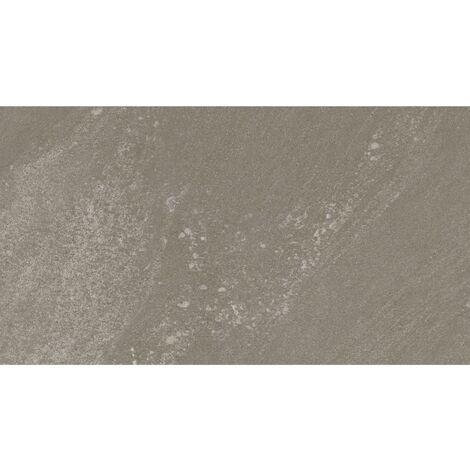 Grosfillex Baldosa de pared Gx Wall+ greige piedra 30x60 cm 11 uds - Gris