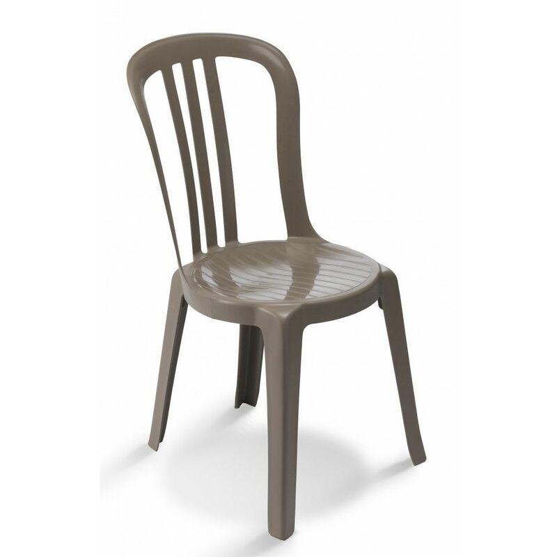 Grosfillex Plusieurs Chaise Bistrot 44x54x88 Couleurs Monobloc Miami Disponibles PkXZiOu
