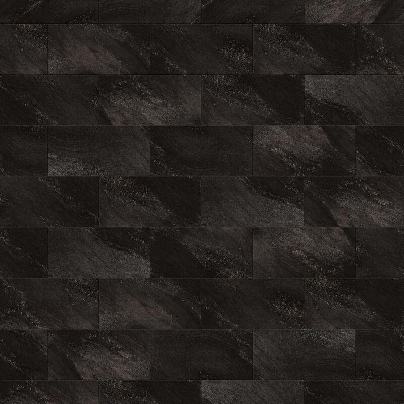 Image of Wallcovering Tile Gx Wall+ 11pcs Stone 30x60cm Black - Black - Grosfillex