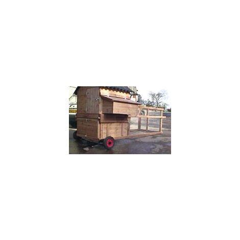 Grosvenor Major Raised Poultry House with Run