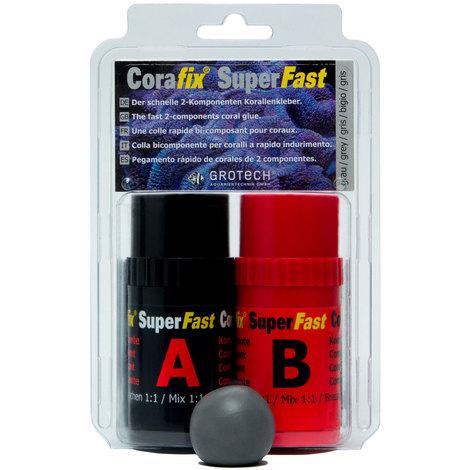 Grotech Korallenkleber - CoraFix SuperFast, grau - 240g
