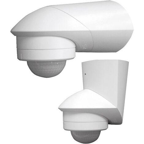Grothe 94531 Aufputz PIR-Bewegungsmelder 240° Relais Weiß IP55 X92932