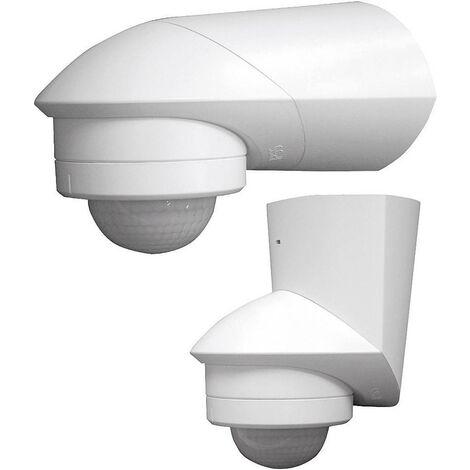 Grothe 94532 Aufputz PIR-Bewegungsmelder 360° Relais Weiß IP55 X92933