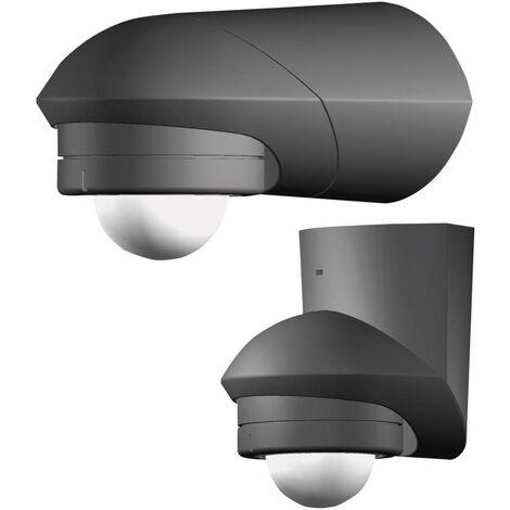 Grothe 94534 Aufputz PIR-Bewegungsmelder 240° Relais Schwarz IP55 X92936
