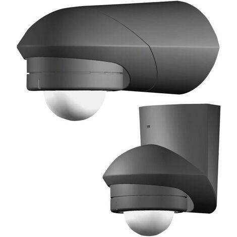 Grothe 94535 Aufputz PIR-Bewegungsmelder 360° Relais Schwarz IP55 X92930