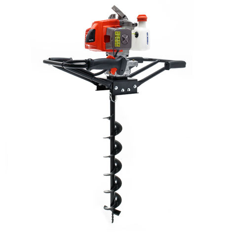 Ground Drill for 2 People with 63.3 cc 3HP 2.2 kW and Ø150 mm Auger