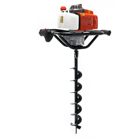 Ground Drill with 63.3 cc 3HP 2.2 kW and Ø150 mm Auger