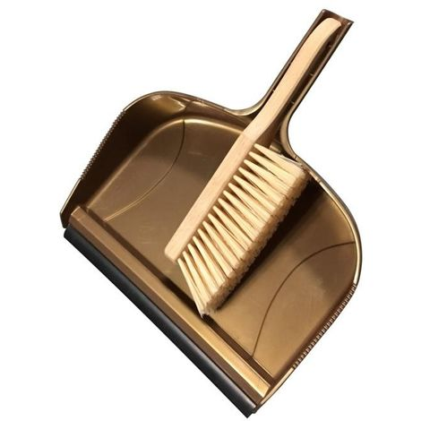 Groundsman Giant Dustpan and Brush (One Size) (Gold)
