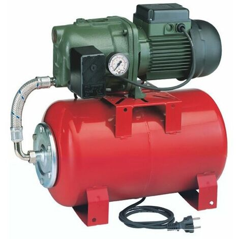 groupe automatique 20l avec pompe jet102m - aquajet red 102/20m - jetly