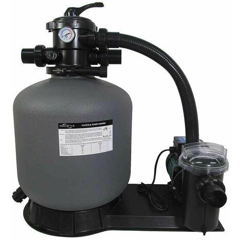 groupe de filtration 11m3/h avec pompe et filtre à sable - 88031811 - poolstyle