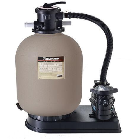 groupe de filtration 8m3/h avec pompe et filtre à sable - s210t8105 - hayward