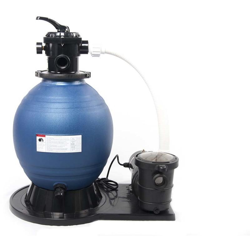 Habitat Et Jardin - Groupe de filtration à sable complet 8.3 m3/h