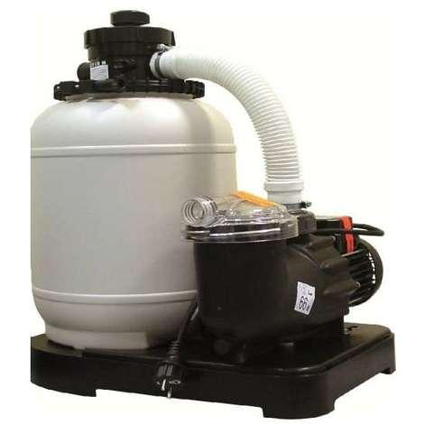 Groupe De Filtration Monobloc D300 Mm   4m3/h  Vanne 4 Voies 1u00271/4 Pour Piscine  Hors Sol