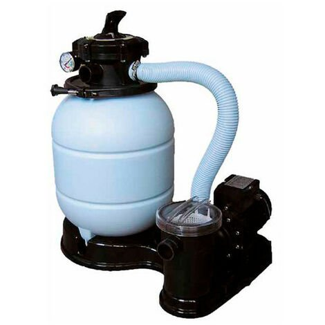 Groupe de filtration pour piscine hors sol Monobloc 5 voies Ø 300 mm - 4 m3/h