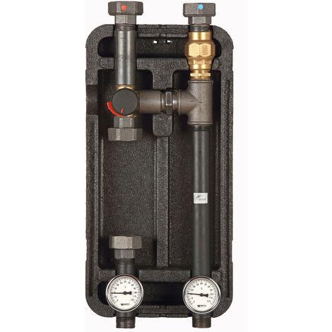 Groupe de pompe avec vanne mélangeuse à 3 voies ESBE KVS 4 Couche d'isolation