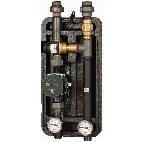 Groupe de pompes avec vanne mélangeuse thermique ESBE KVS 3,2