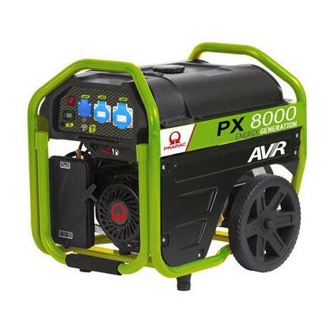 Groupe électrogène 5400W AVR PX8000 PRAMAC
