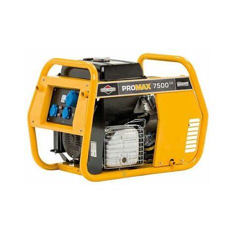 Groupe électrogène à essence portatif 6000 watts 479cc ProMax 7500EA