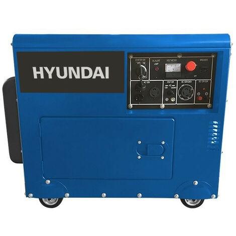 Groupe électrogène diesel 4500 W 5000 W - Triphasé