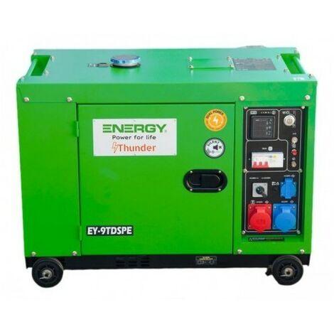 """main image of """"Groupe électrogène diesel Energy EY-9TDSPE mono et tri 7200W - Bleue ou verte selon arrivage"""""""