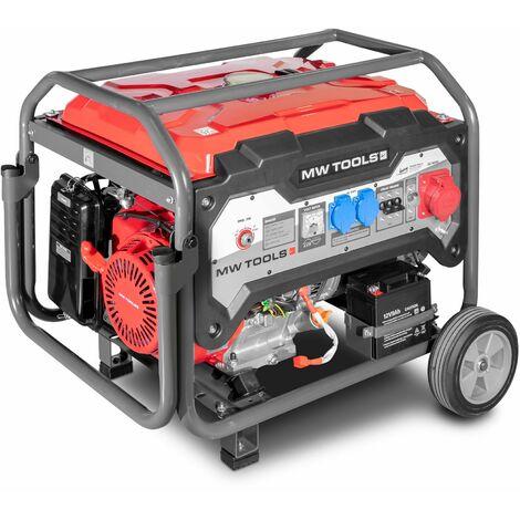 """main image of """"Groupe électrogène essence 6,5kW 3x400V - démarrage électrique MW-Tools BG65ED"""""""