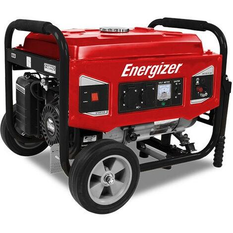 Groupe électrogène essence de chantier 3000 W 2700 W - Système AVR EZG3000