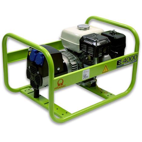 Groupe électrogène essence de chantier HONDA Pramac E4000 3,1 kW