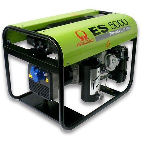 Groupe électrogène essence de chantier HONDA Pramac ES 5000 4.6 Kw