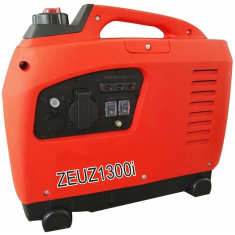 Groupe Electrogene Essence Inverter 1300 W Zeuz