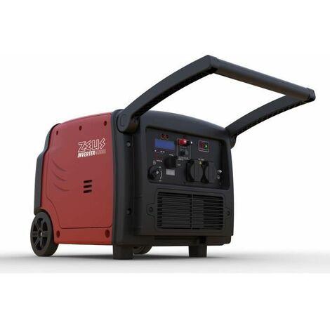 Groupe Electrogene Essence Inverter 3200 W démarrage électrique Zeuz