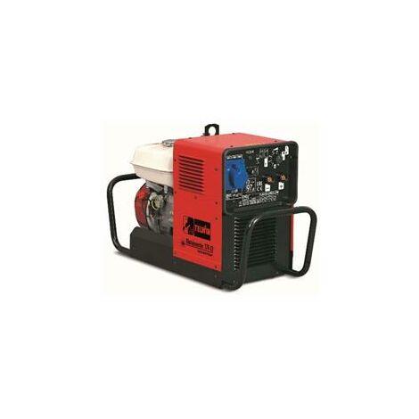 Groupe électrogène et soudage à essence mobile inverter 196 cm3