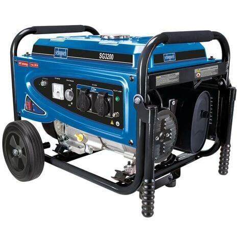 GROUPE ELECTROGENE GENERATEUR A ESSENCE 6,5HP 2,8 kW SCHEPPACH SG3200