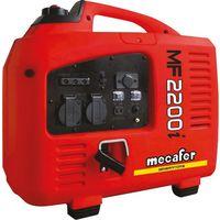 Groupe électrogène Inverter Debruite MF2200i Mecafer - 2000 W - Rouge